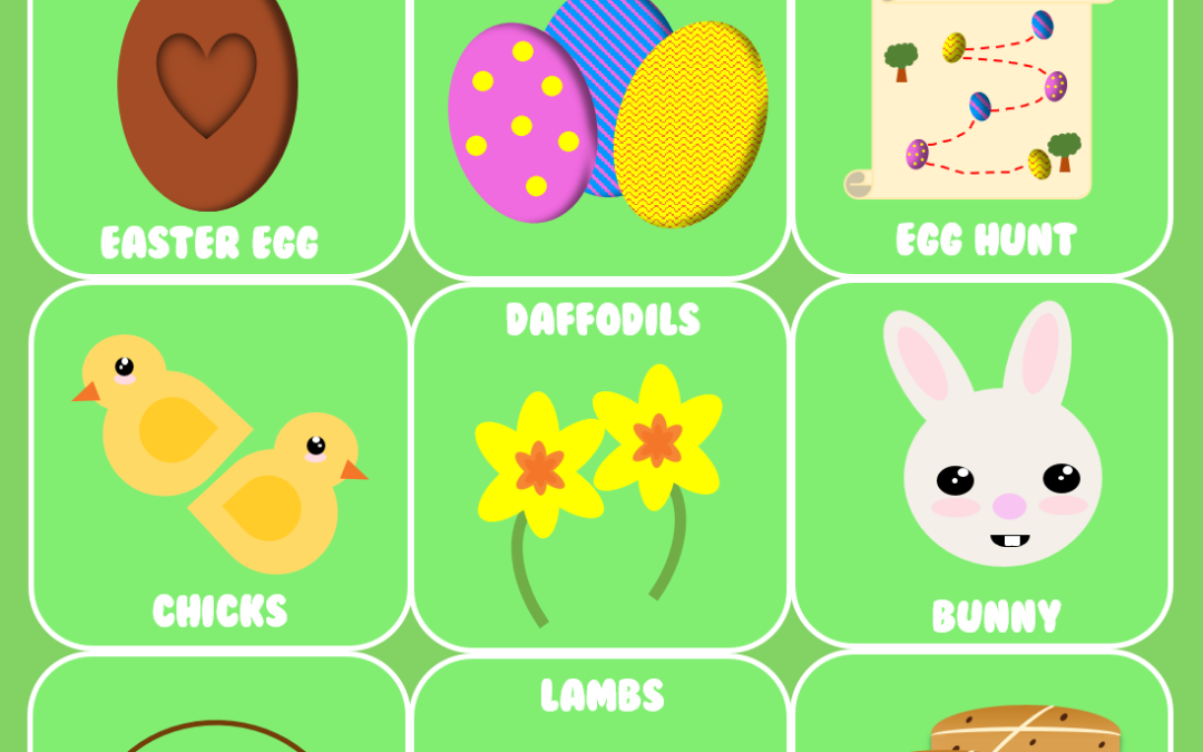 Easter Bingo Cards – Fun Way to Spend Easter with Family and Friends