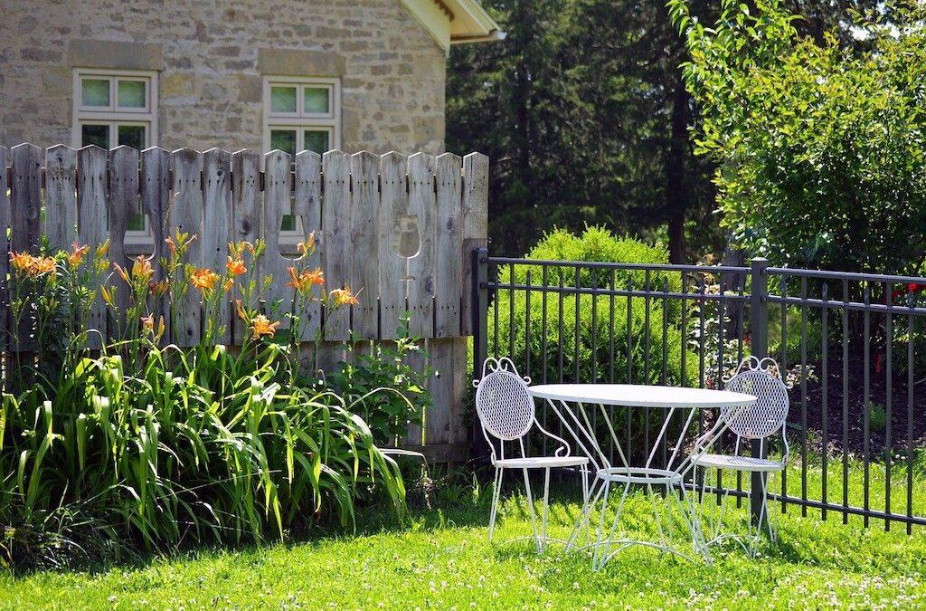 Making Your Own Garden Furniture